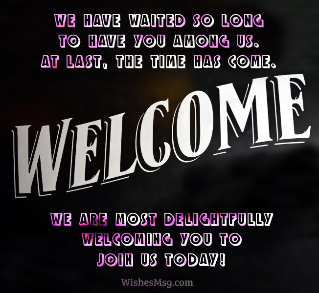 Best-Welcome-Messages-Example