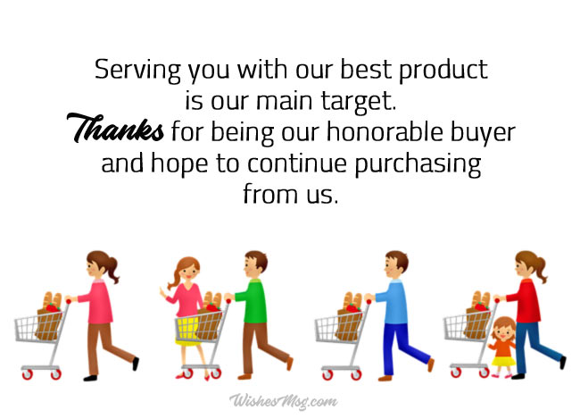 Business Thank You Notes To Customer