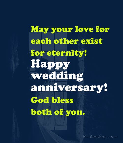 Christian Anniversary Wishes for Couple