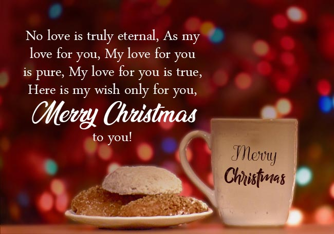 Christmas Love Text For Wife