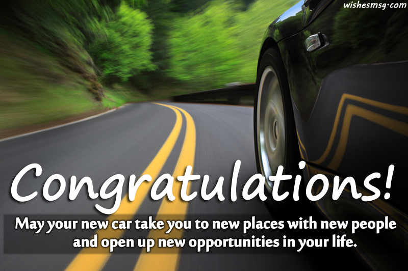 new car wish messages quotes for facebook