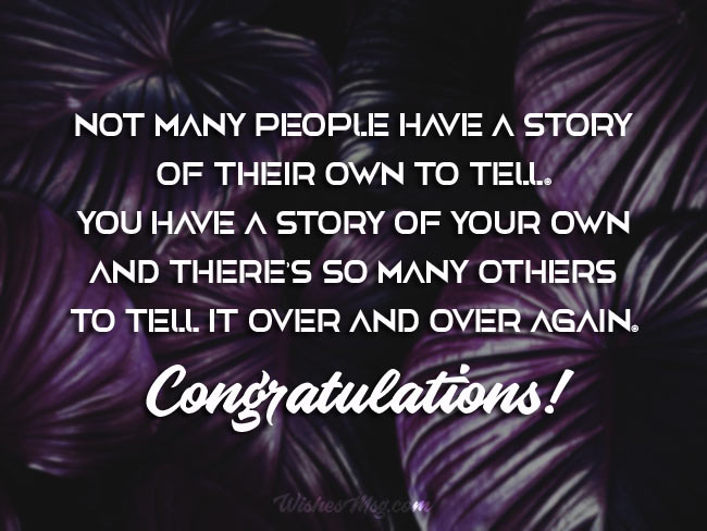 Congratulations Wishes Messages
