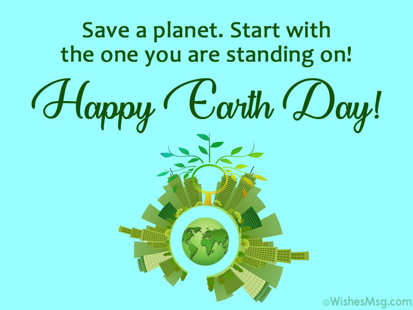 Save Planet Earth Quotes