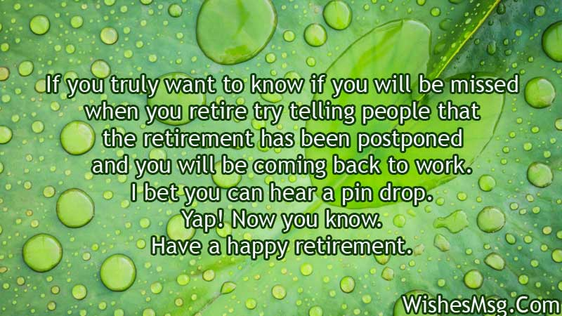 Funny-retirement-wishes-messages