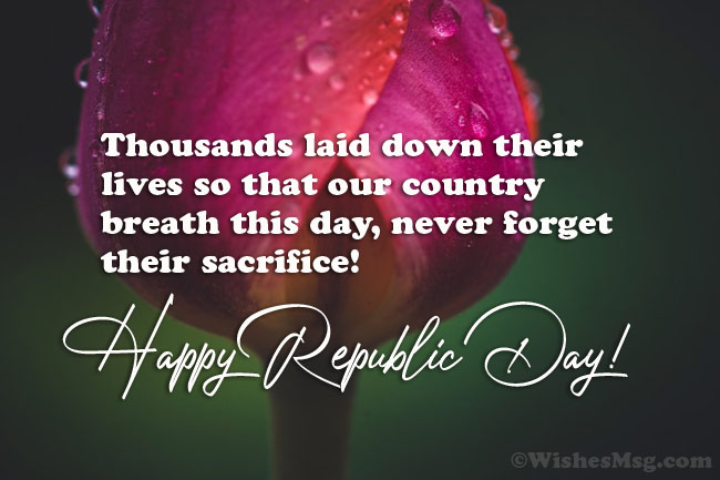 Inspiring Republic Day Messages