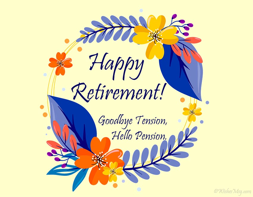 retirement wishes messages and quotes » ultra wishes