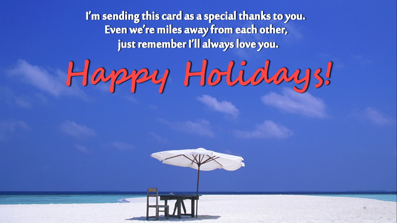 holiday messages and wishes