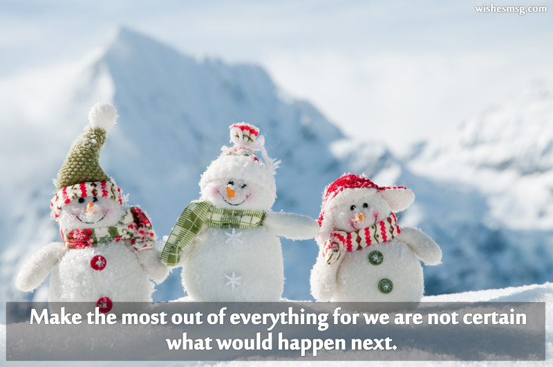 cute holiday messages with picture