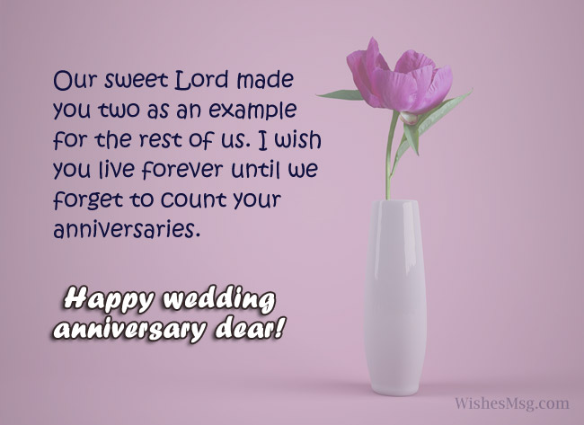 Religious Christian Anniversary Messages