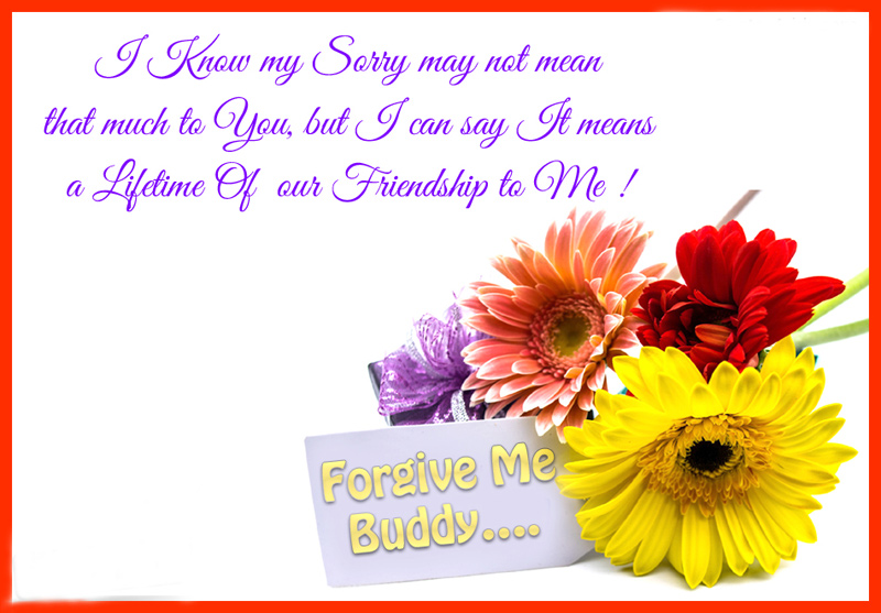 sorry messages to best friend