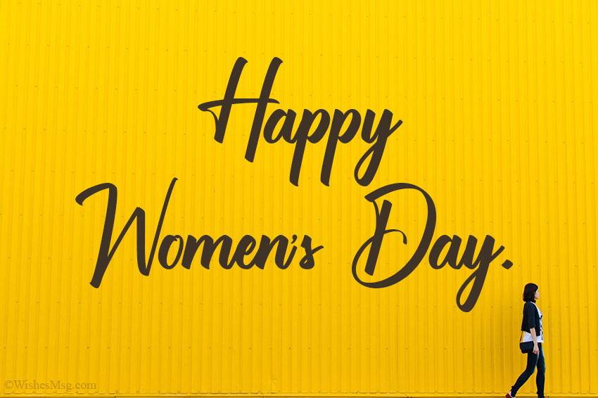 Happy Women's Day Card Messages