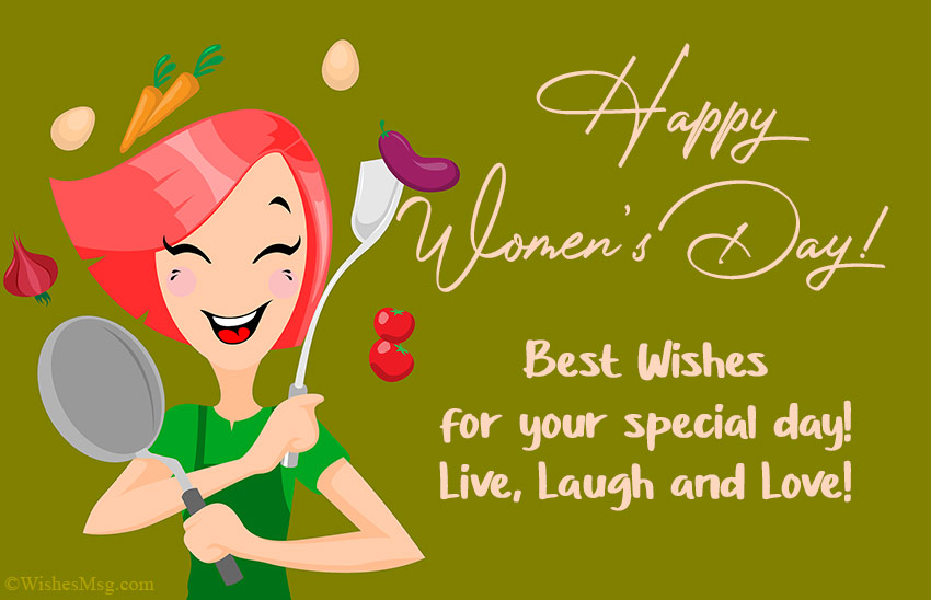 Happy Women's Day Wishes Messages