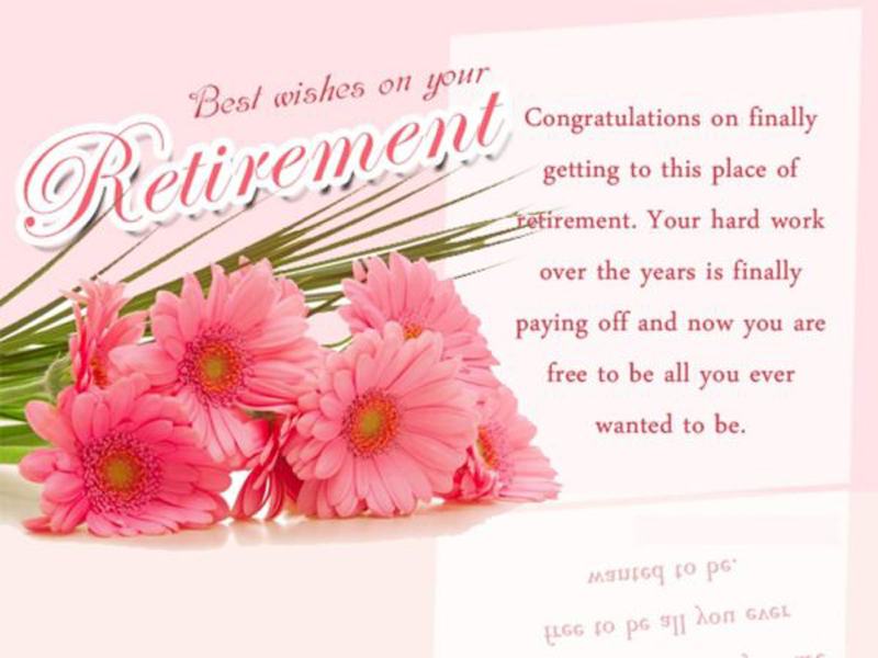 wishes of colleagues retirement for facebook