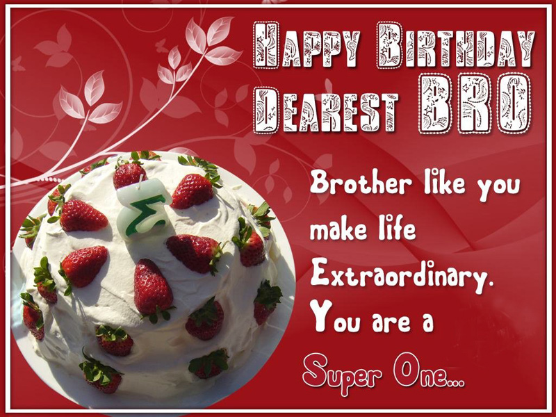 happy birthday brother wishes messages