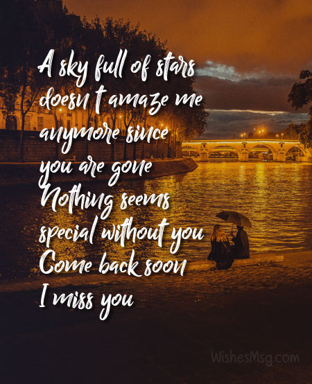 touchy missing you messages for husband