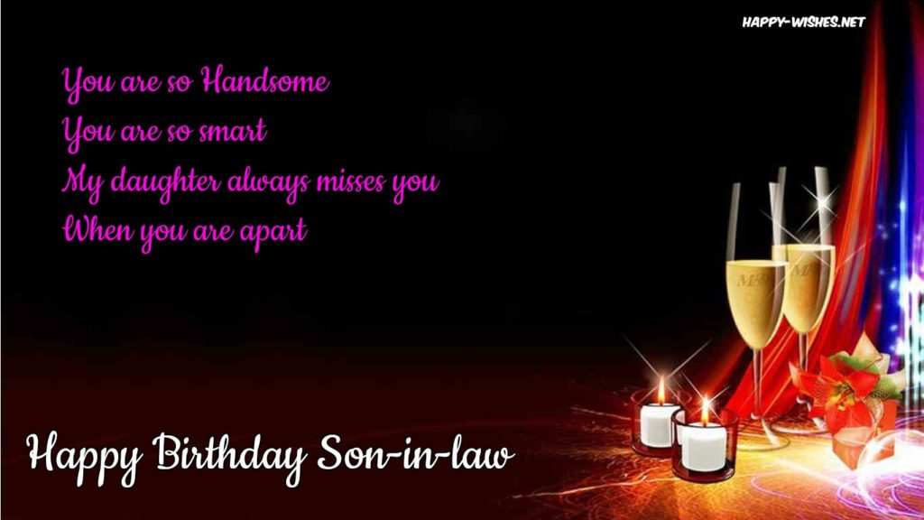 Happy Birthday Wishes For Son In Law Quotes Messages Ultra Wishes