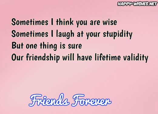 best Friends Forever wishes