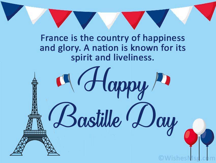 Bastille Day Wishes Quotes