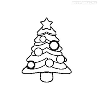 Best Christmas Tree Coloring Pages in the house
