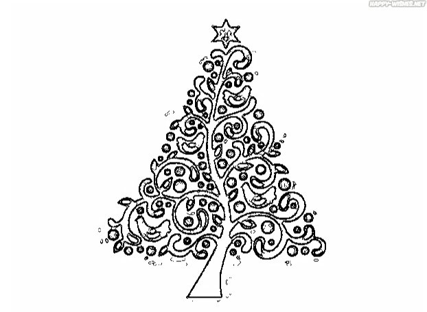 Best Christmas Tree coloring Pages for christmas