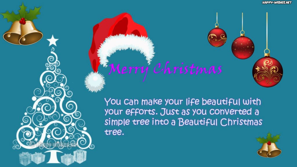 Best Christmas tree inspirational quotes