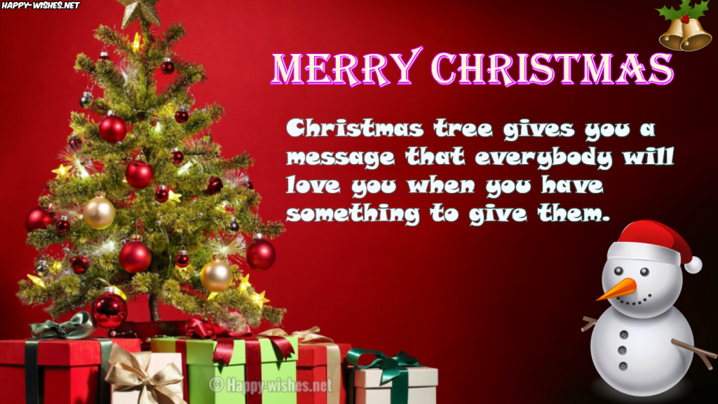 Best Christmas tree quotes