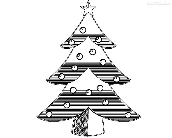 Best Coloring Pages of Christmas Tree