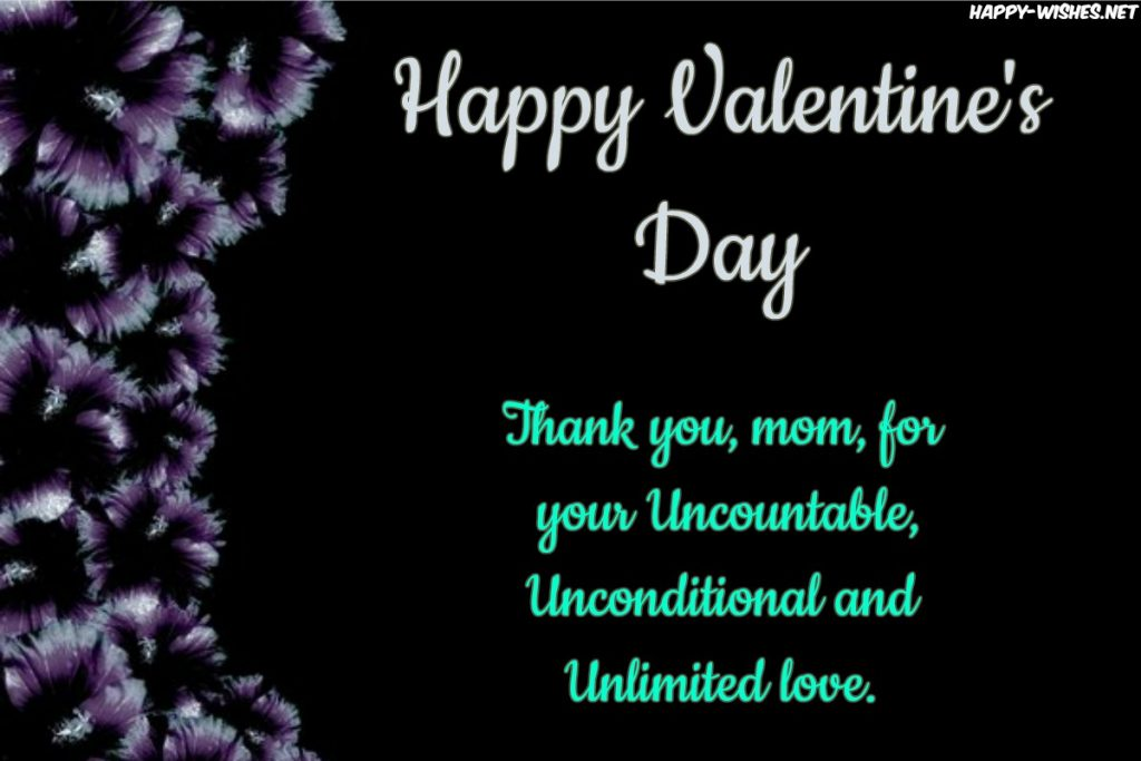 Best Messages for mom on Valentine's Day