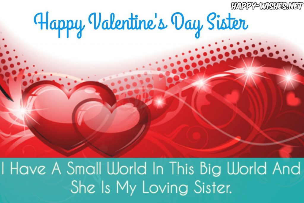 Best Valentine's messages for sister