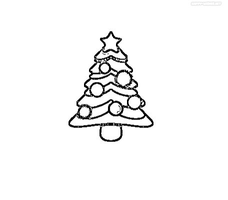 Best coloring pages for the Christmas Tree For Decoration