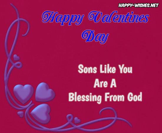 Best images for wishing son a Happy Valentine's day