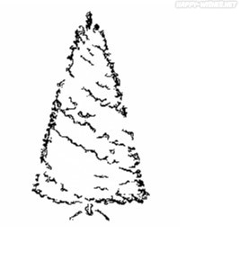 Coloring Pages of the Merry Christmas Tree