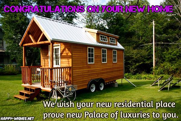 Congratulations Wishes for New Home - Quotes and Messages