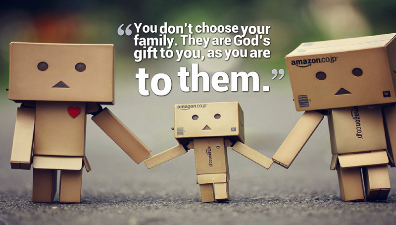 God Status And Short Family Quotes