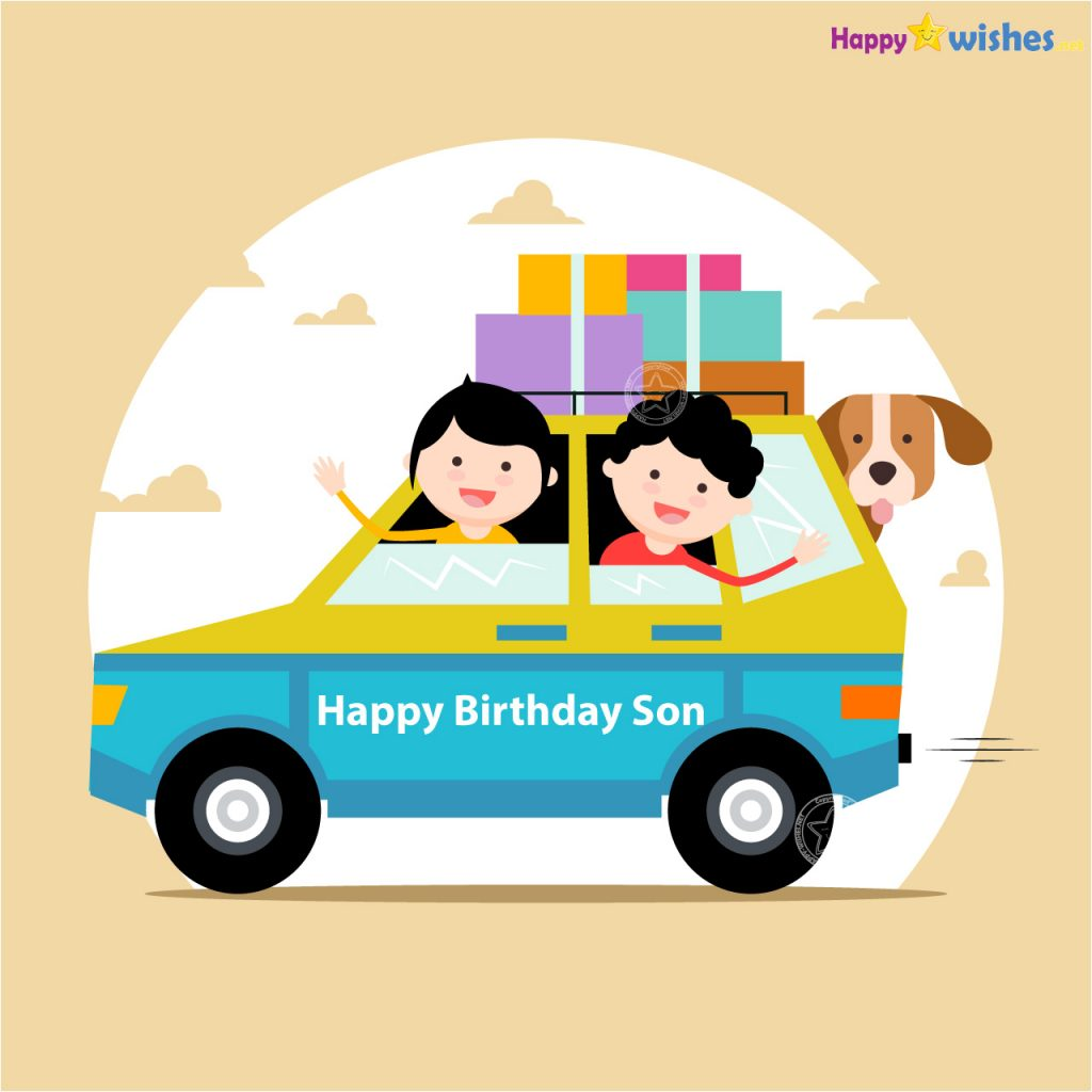 Happy Birthday Son from mother