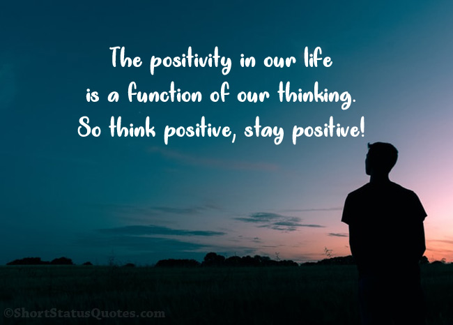 95 Positive Attitude Status Captions Short Positive Quotes Ultra Wishes