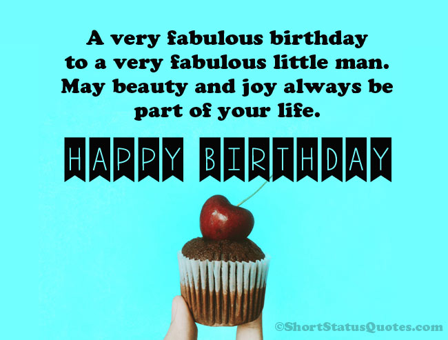 150 Best Birthday Status Wishes Messages For Baby Boy Ultra Wishes
