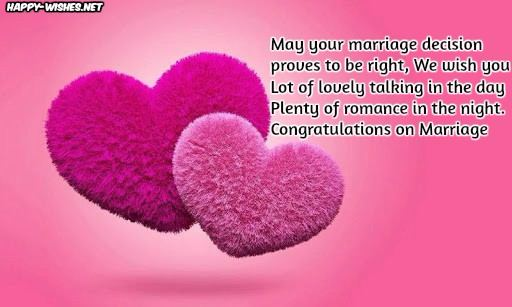 Wedding Congratulations Wishes Quotes and Messages - Marriage