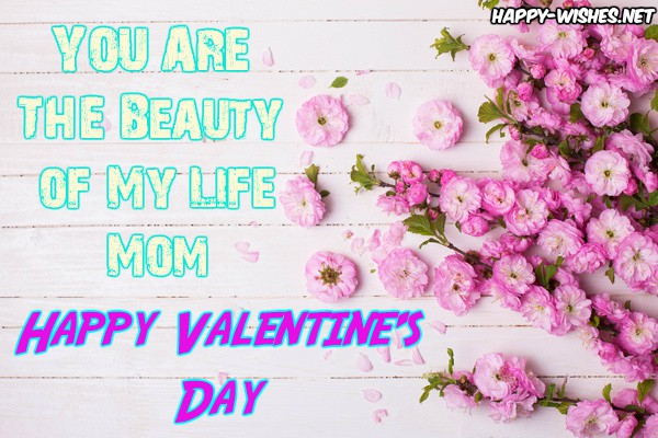 You are my beautiful MOM