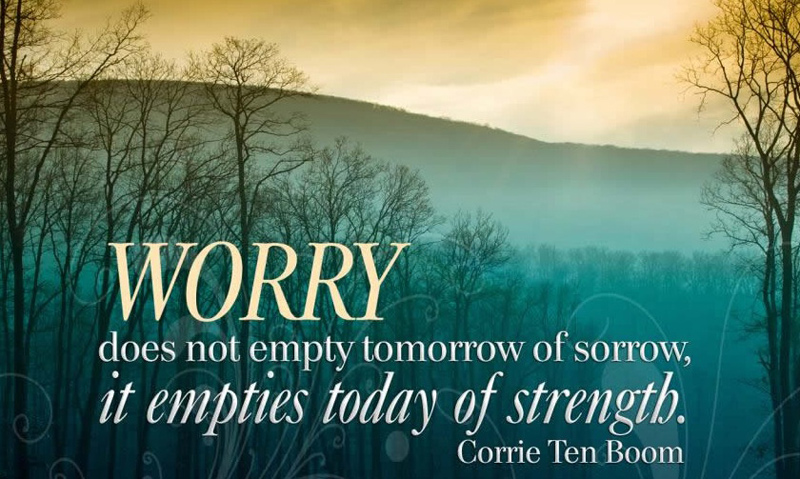 Worry Status, Messages and Short Quotes