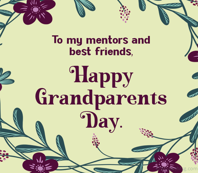 Grandparent's Day Card Message