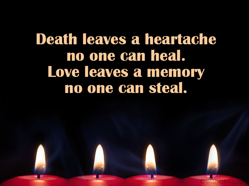 Short Death Anniversary Messages