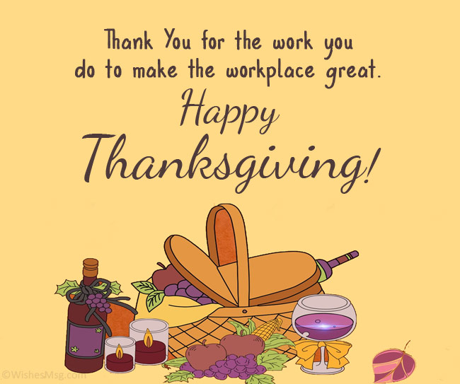 thanksgiving wishes from business