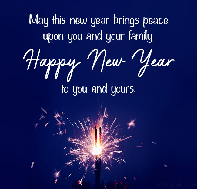 Religious New Year Wishes for Friends