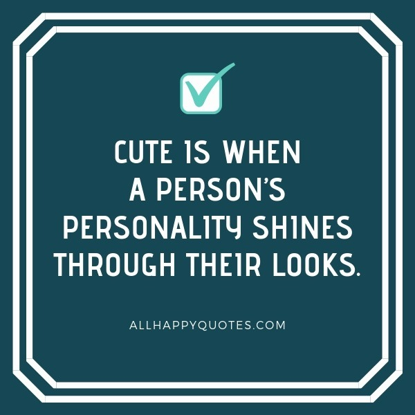 Cute Little Quotes