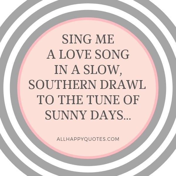 Cute Song Lyric Quotes