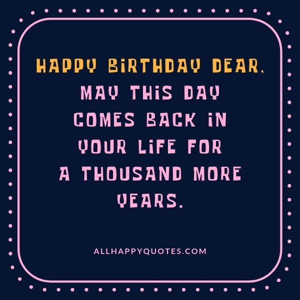 Long Happy Birthday Wishes For Best Friend