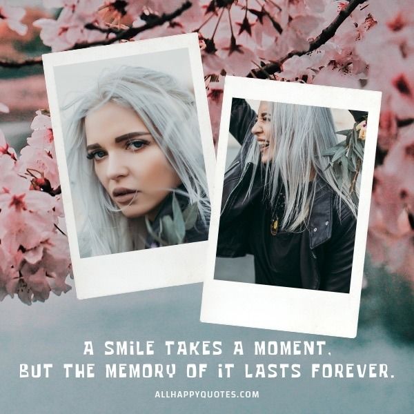 memory of it lasts forever