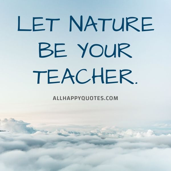 nature quotes about clouds