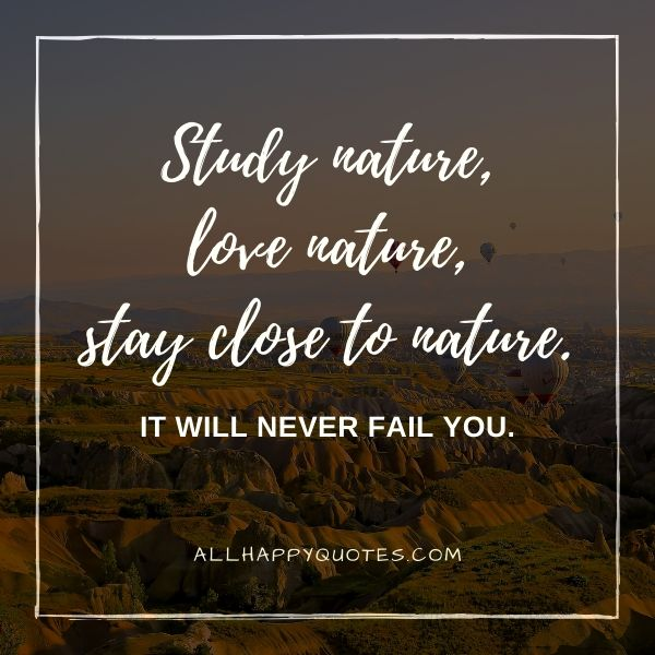 nature quotes about trees